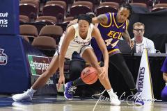 NCAA Women's Basketball AAC Tournament Quarterfinals - #1 UConn 92 vs. 8 ECU 65 (45)