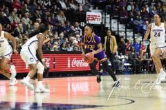 NCAA Women's Basketball AAC Tournament Quarterfinals - #1 UConn 92 vs. 8 ECU 65 (46)
