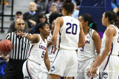 NCAA Women's Basketball AAC Tournament Quarterfinals - #1 UConn 92 vs. 8 ECU 65 (50)