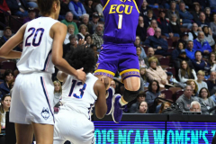 NCAA Women's Basketball AAC Tournament Quarterfinals - #1 UConn 92 vs. 8 ECU 65 (53)
