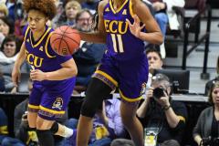NCAA Women's Basketball AAC Tournament Quarterfinals - #1 UConn 92 vs. 8 ECU 65 (55)