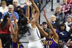 NCAA Women's Basketball AAC Tournament Quarterfinals - #1 UConn 92 vs. 8 ECU 65 (59)