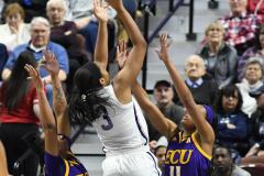NCAA Women's Basketball AAC Tournament Quarterfinals - #1 UConn 92 vs. 8 ECU 65 (59)