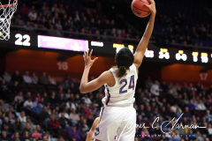 NCAA Women's Basketball AAC Tournament Quarterfinals - #1 UConn 92 vs. 8 ECU 65 (60)