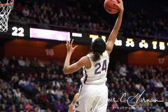 NCAA Women's Basketball AAC Tournament Quarterfinals - #1 UConn 92 vs. 8 ECU 65 (60)