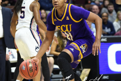 NCAA Women's Basketball AAC Tournament Quarterfinals - #1 UConn 92 vs. 8 ECU 65 (64)