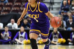 NCAA Women's Basketball AAC Tournament Quarterfinals - #1 UConn 92 vs. 8 ECU 65 (65)