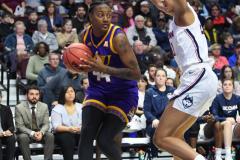 NCAA Women's Basketball AAC Tournament Quarterfinals - #1 UConn 92 vs. 8 ECU 65 (69)