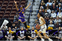 NCAA Women's Basketball AAC Tournament Quarterfinals - #1 UConn 92 vs. 8 ECU 65 (70)