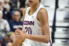 NCAA Women's Basketball AAC Tournament Quarterfinals - #1 UConn 92 vs. 8 ECU 65 (74)