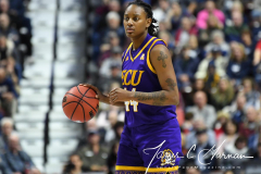 NCAA Women's Basketball AAC Tournament Quarterfinals - #1 UConn 92 vs. 8 ECU 65 (76)