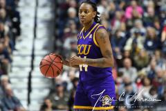 NCAA Women's Basketball AAC Tournament Quarterfinals - #1 UConn 92 vs. 8 ECU 65 (76)
