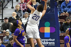 NCAA Women's Basketball AAC Tournament Quarterfinals - #1 UConn 92 vs. 8 ECU 65 (79)