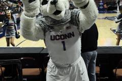 NCAA Women's Basketball AAC Tournament Quarterfinals - #1 UConn 92 vs. 8 ECU 65 (8)