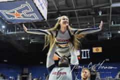NCAA Women's Basketball AAC Tournament Quarterfinals - #1 UConn 92 vs. 8 ECU 65 (82)