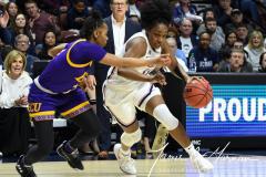 NCAA Women's Basketball AAC Tournament Quarterfinals - #1 UConn 92 vs. 8 ECU 65 (87)