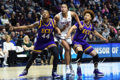 NCAA Women's Basketball AAC Tournament Quarterfinals - #1 UConn 92 vs. 8 ECU 65 (90)