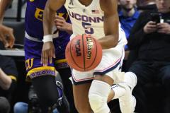 NCAA Women's Basketball AAC Tournament Quarterfinals - #1 UConn 92 vs. 8 ECU 65 (91)