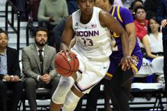 NCAA Women's Basketball AAC Tournament Quarterfinals - #1 UConn 92 vs. 8 ECU 65 (92)
