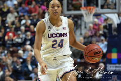 NCAA Women's Basketball AAC Tournament Quarterfinals - #1 UConn 92 vs. 8 ECU 65 (95)