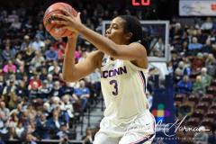 NCAA Women's Basketball AAC Tournament Quarterfinals - #1 UConn 92 vs. 8 ECU 65 (96)
