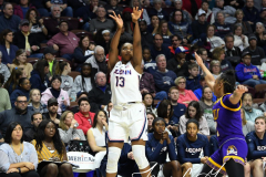 NCAA Women's Basketball AAC Tournament Quarterfinals - #1 UConn 92 vs. 8 ECU 65 (98)