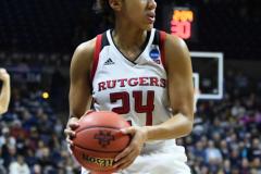 NCAA Women's Basketball 1st Round - #7 Rutgers 71 vs. #10 Buffalo 82 (102)
