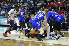 NCAA Women's Basketball 1st Round - #7 Rutgers 71 vs. #10 Buffalo 82 (105)