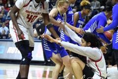 NCAA Women's Basketball 1st Round - #7 Rutgers 71 vs. #10 Buffalo 82 (106)