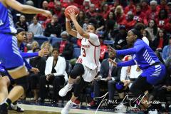NCAA Women's Basketball 1st Round - #7 Rutgers 71 vs. #10 Buffalo 82 (112)