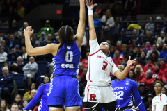 NCAA Women's Basketball 1st Round - #7 Rutgers 71 vs. #10 Buffalo 82 (113)