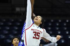 NCAA Women's Basketball 1st Round - #7 Rutgers 71 vs. #10 Buffalo 82 (13)