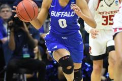 NCAA Women's Basketball 1st Round - #7 Rutgers 71 vs. #10 Buffalo 82 (28)