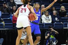 NCAA Women's Basketball 1st Round - #7 Rutgers 71 vs. #10 Buffalo 82 (29)