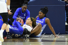 NCAA Women's Basketball 1st Round - #7 Rutgers 71 vs. #10 Buffalo 82 (39)