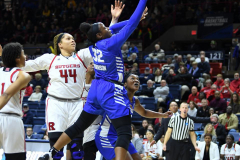 NCAA Women's Basketball 1st Round - #7 Rutgers 71 vs. #10 Buffalo 82 (42)