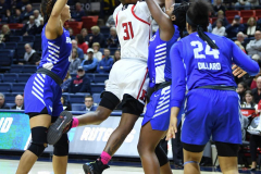 NCAA Women's Basketball 1st Round - #7 Rutgers 71 vs. #10 Buffalo 82 (49)