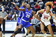 NCAA Women's Basketball 1st Round - #7 Rutgers 71 vs. #10 Buffalo 82 (51)