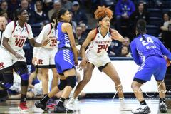 NCAA Women's Basketball 1st Round - #7 Rutgers 71 vs. #10 Buffalo 82 (53)