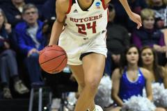 NCAA Women's Basketball 1st Round - #7 Rutgers 71 vs. #10 Buffalo 82 (55)