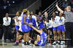 NCAA Women's Basketball 1st Round - #7 Rutgers 71 vs. #10 Buffalo 82 (58)