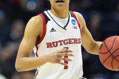 NCAA Women's Basketball 1st Round - #7 Rutgers 71 vs. #10 Buffalo 82 (61)