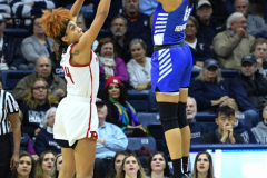 NCAA Women's Basketball 1st Round - #7 Rutgers 71 vs. #10 Buffalo 82 (62)