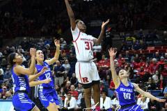 NCAA Women's Basketball 1st Round - #7 Rutgers 71 vs. #10 Buffalo 82 (63)