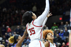 NCAA Women's Basketball 1st Round - #7 Rutgers 71 vs. #10 Buffalo 82 (65)