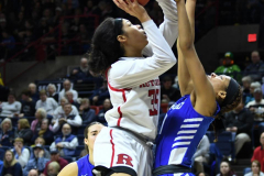 NCAA Women's Basketball 1st Round - #7 Rutgers 71 vs. #10 Buffalo 82 (71)