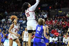 NCAA Women's Basketball 1st Round - #7 Rutgers 71 vs. #10 Buffalo 82 (73)