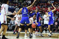 NCAA Women's Basketball 1st Round - #7 Rutgers 71 vs. #10 Buffalo 82 (78)