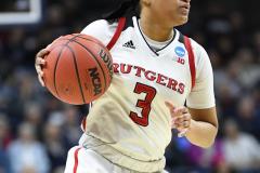 NCAA Women's Basketball 1st Round - #7 Rutgers 71 vs. #10 Buffalo 82 (80)