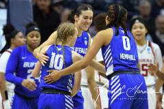 NCAA Women's Basketball 1st Round - #7 Rutgers 71 vs. #10 Buffalo 82 (82)